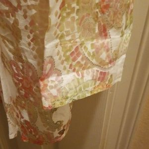 Coldwater Creek Tops - Semi sheer button down blouse